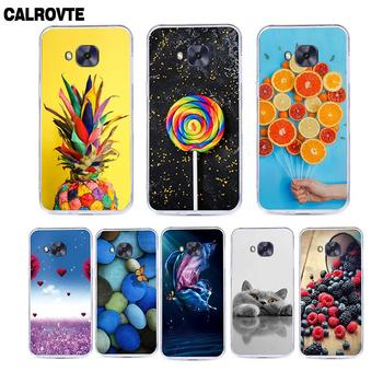 Cute Cartoon Case For Zenfone 4 Max ZC520KL ZC520 KL X00HD ZC554KL 4 Selfie ZD553KL 4 ZE554KL Lovely TPU Patterned Phone Cover image
