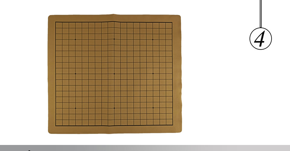 Easytoday Chinese Chessboard Synthetic Leather ChessBoard Two in one Board Softness Chess Cloth International Standard Chess Accessories (4)
