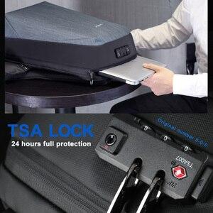 Image 2 - Tigernu RFID sac à dos daffaires avec TSA serrure de voyage pour la Protection de la carte de bagages Anti vol sacs à dos hommes étanche 15.6 ordinateur portable