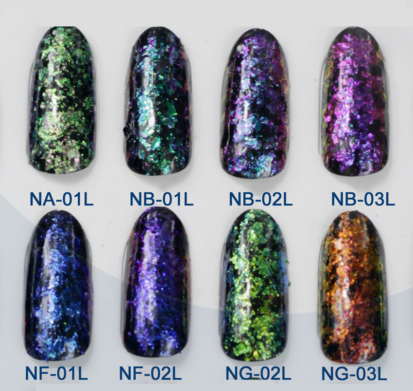 Bright Chrome Nail Designs Amazon