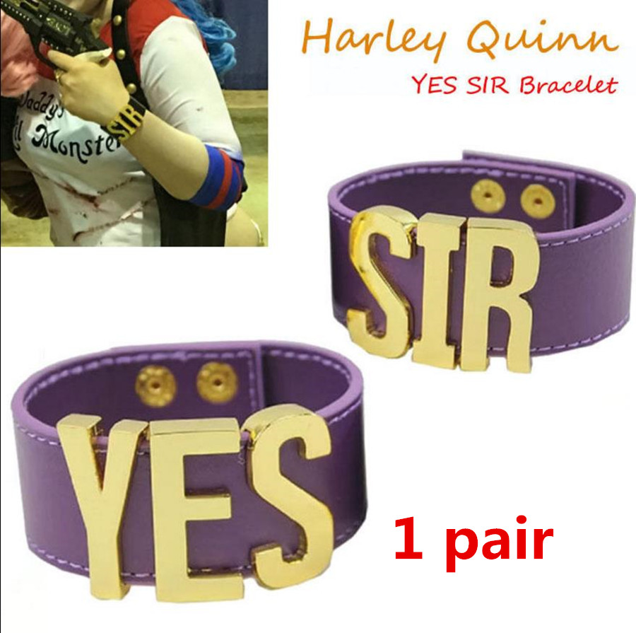 Suicide Squad Harley Quinn Cosplay Costume T shirt Coat Jacket Set Accessory Earrings Collar Bracelet Belt Gloves in Movie TV costumes from Novelty Special Use