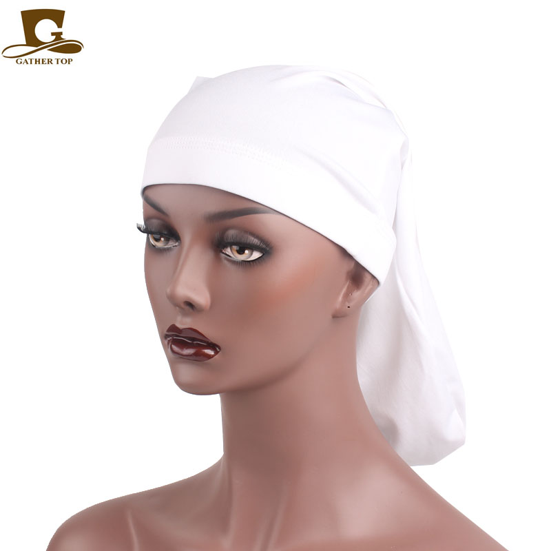 New Fashion Velvet Ruffle Turban Dreadlock Sleeping Cap Slouch Cap Bandana Hair Loss Bonnet Tube Cap Hair Accessories For Women To Reduce Body Weight And Prolong Life Apparel Accessories