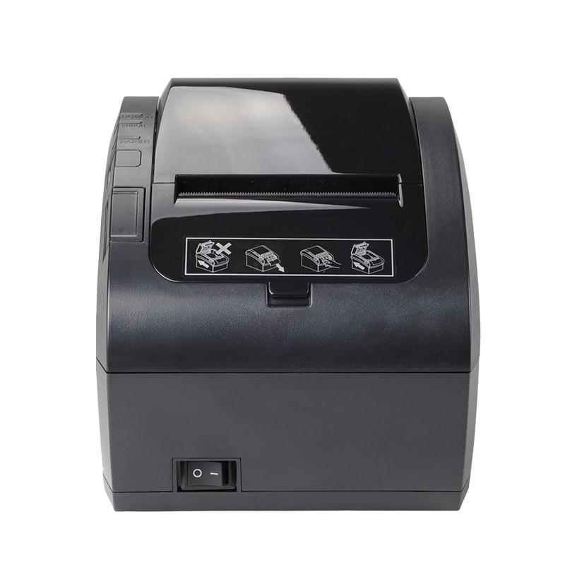 Высокое качество 80 мм Термальный чековый принтер автоматический резак банкнот принтер wifi/Bluetooth/USB/LAN/RS232 кухонный Ресторан POS принтер - 5