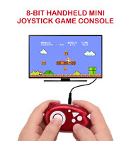 2018 10 pcs Hot Mini Classic Handheld Game Player TV Video Game Console Childhood AV Built in 89 Games Mini Console