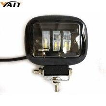 Yait 30 Вт квадратный прожектор Светодиодный светильник для автомобиля внедорожный 4x4 ATV тягач внедорожник 30 Вт Светодиодный светильник 12 24 В