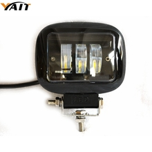 Yait 30W Square Flood LED Work Light Bar Lamp For Car Offroad 4×4 ATV Truck Tractor SUV Vehicle 30w LED Work Light Flood 12 24V