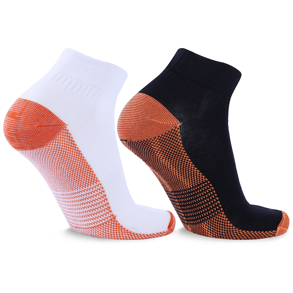 25 Pairs Unisex Miracle Copper Compression Socks Anti Vein Professional Ankle Socks For Men And Women