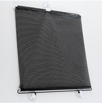 50/58/68x125cm automatic telescopic type automobile curtain sun shading cover sun shading board black curtain  Free Shipping 4