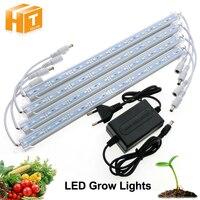LED Grow Light DC12V IP68 Waterproof Hight Brightness 5630 LED Bar Light For Aquarium Greenhouse Plant