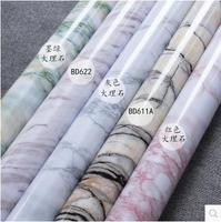 Marble Renovation Waterproof Adhesive Stickers PVC Wallpaper Wallpaper Wall Stick Ambry Mesa Table Furniture 335