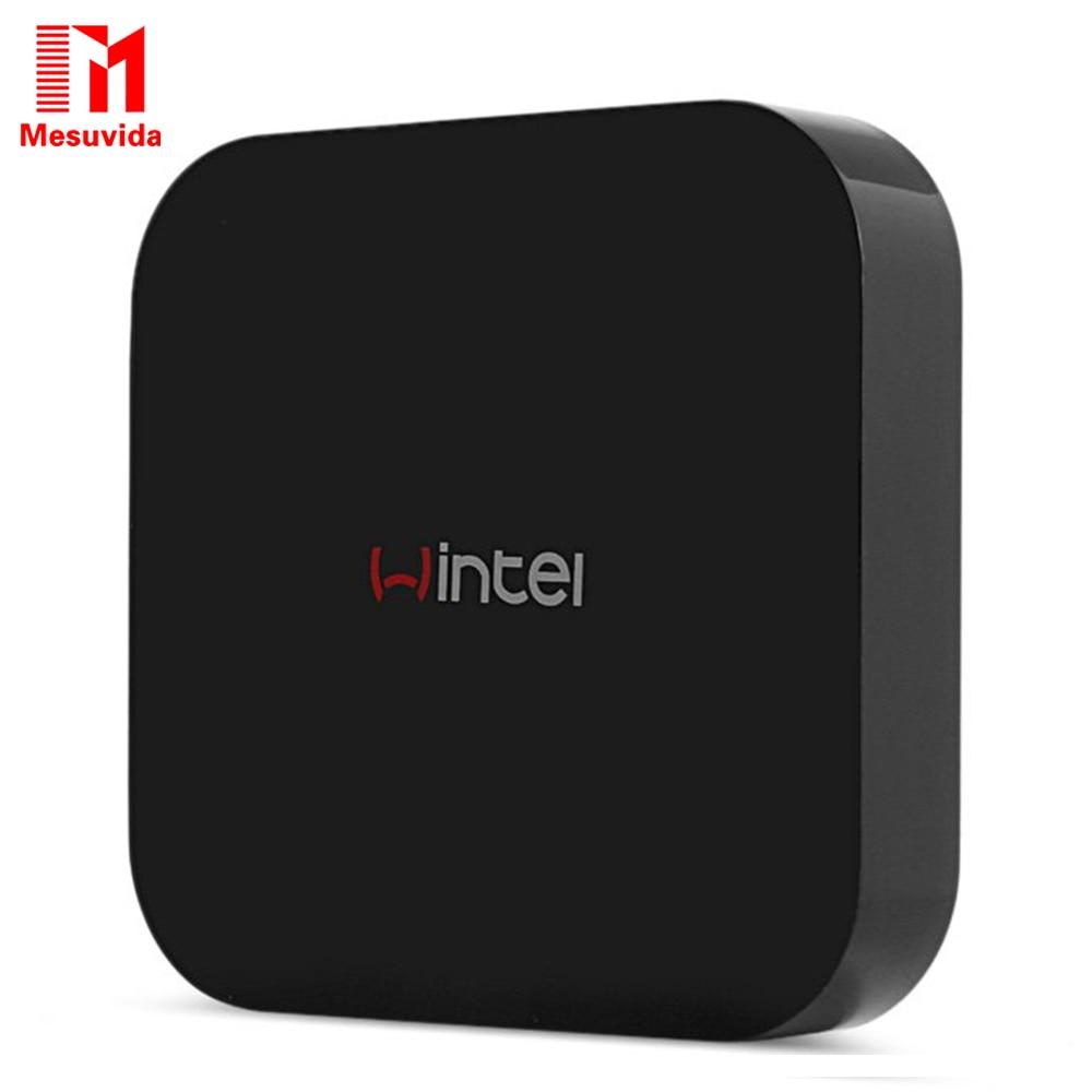 Mesuvida Multi-function Portable Mini Wintel W8 Set-top Box Z3735F Quad Core Dual Boot WiFi Smart TV Box 2GB/32GB Bluetooth 4.0