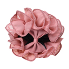 MYPF-Xuefang exquisite rose Flowers Large Gripper Hair Clip Black