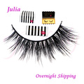 In stock handmade 100% real siberian mink false eyelashes,mink fur false eyelash 3D strip mink lashes thick fake faux eyelashes