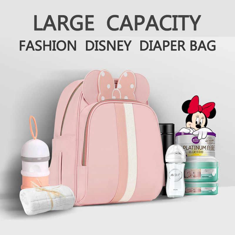 Saco de fraldas do bebê mochila múmia maternidade usb aquecimento saco de fraldas mochila viagem designer carrinho de enfermagem saco moda