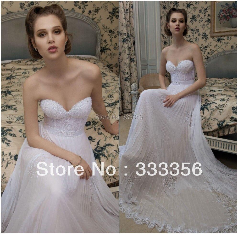 Inbal Dror Wedding Gowns: Vintage Sexy Sweetheart Wedding Dress Inbal Dror Chiffon