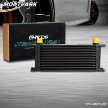 16 ряд 10 an-10an Универсальный Алюминий Двигатели для автомобиля Трансмиссия маслоохладитель