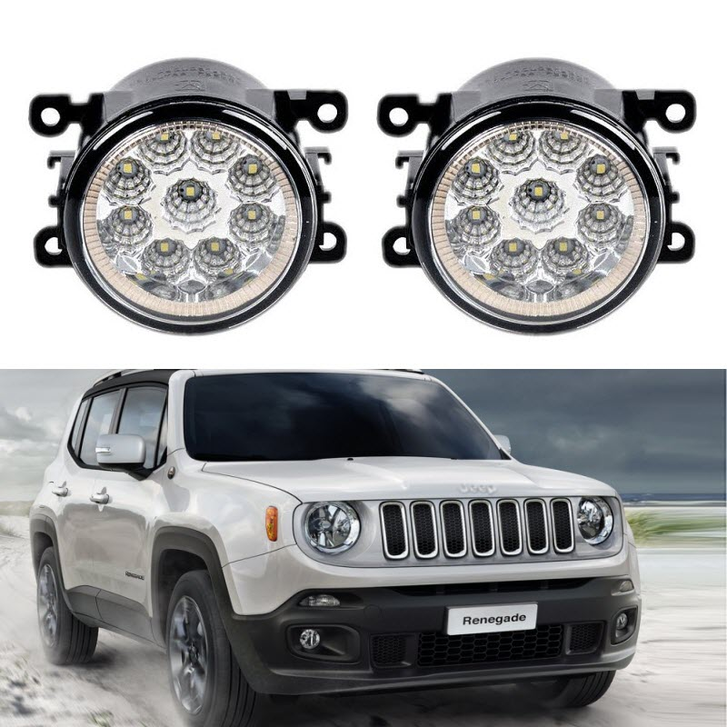 Led Lights Jeep Renegade: Car Styling For Jeep Renegade BU 2015 2016 2017 9 Pieces