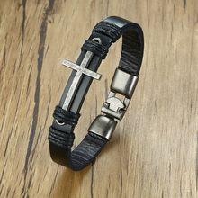3d3a3e1655aa Promoción de Leather Christian Bracelets - Compra Leather Christian ...