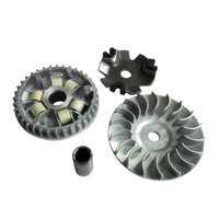 2088 Motorcycle Drive Clutch Variator Drive Face Assembly Driven Kit For Haojue HJ100 HJ100T 2 3