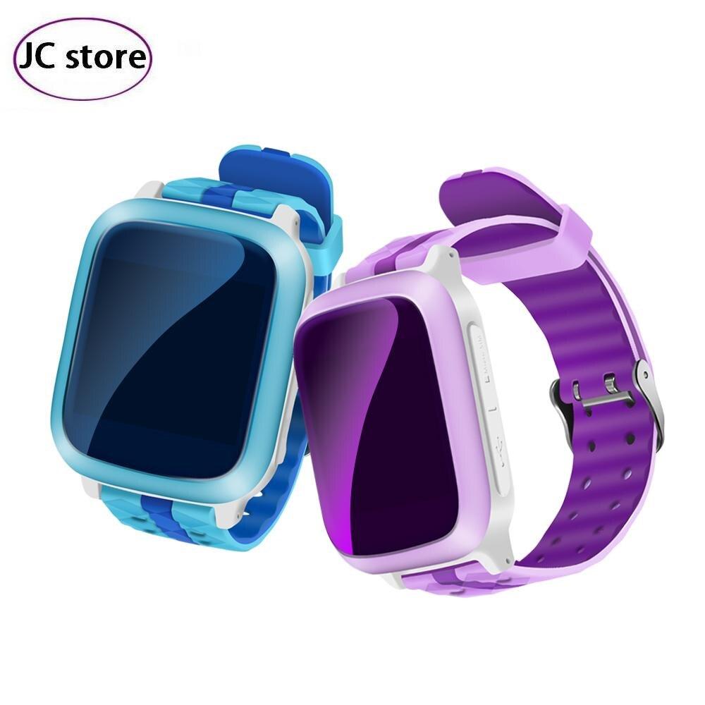 imágenes para Nuevos niños seguridad perdida anti gps tracker smart watch ds18 ip67 a prueba de agua los niños sos de emergencia para iphone & android pk q90 v7k