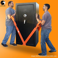 Moving Furniture Moving Belt Rope TV Selling Household Saving Convenience Polyester Moving Belt Carrying 2PCS