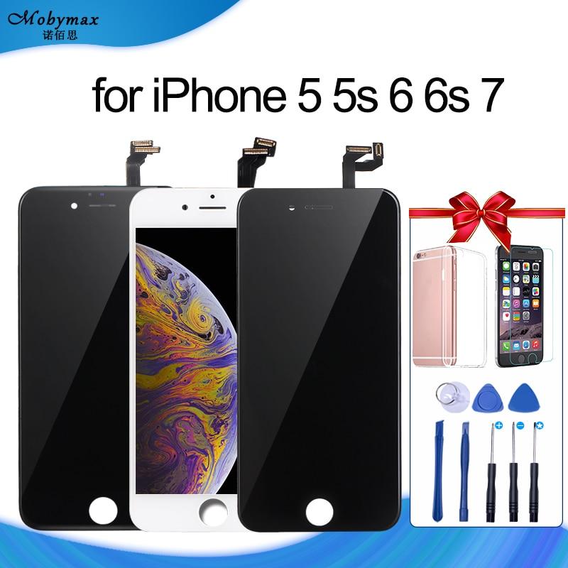Para el iPhone 6 pantalla LCD y digitalizador táctil reparación de la Asamblea reemplazo para iPhone 7 Display LCD para iPhone 5S pantalla 6 s pantalla