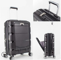 20inch 24 inch Computer Suitcase Rolling Luggage Hardside Spinner Trolley Bag PP Material Travel Box Boarding wheels Case XL020