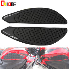 Tank Pad Protector Sticker Decal Gas Knee Grip Tank Traction Pad Side For HONDA cbr600rr 2007 2008 2009 2010 2011 2012 цена