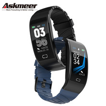ASKMEER S7C Smart watch Heart Rate Tracker Bracelet IP68 Waterproof Wristband Men Band For IOS Android Phone