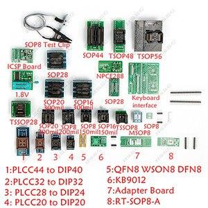 Image 3 - Orijinal RT809H emmc nand Flash programcı evrensel programcı TSOP56 TSOP48 SOP44 adaptörü VGA HDMI BGA63 BGA64 BGA153 BGA169
