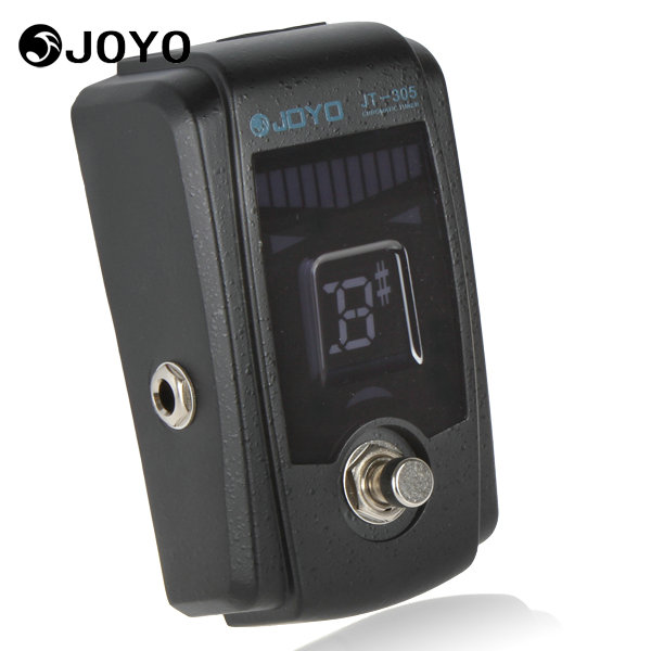 joyo jt 305 metal chromatic bass guitar pedal tuner guitar parts accessories with 4 display. Black Bedroom Furniture Sets. Home Design Ideas