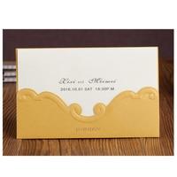 50pcs Pack New Kraft Wedding Invitations With Envelopes Business Greeting Birthday Party Invitation Card Universal Invitations