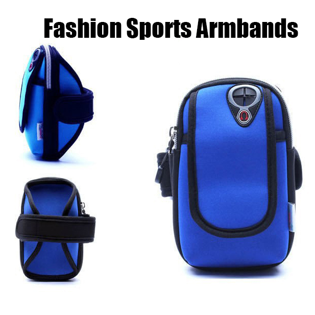 Arm band For iPhone X 8plus 7 5S 6S Plus Phone Cases Brassard Sport Running Jogging Gym Fitness Phone Bag Brazalete for Note8 S8