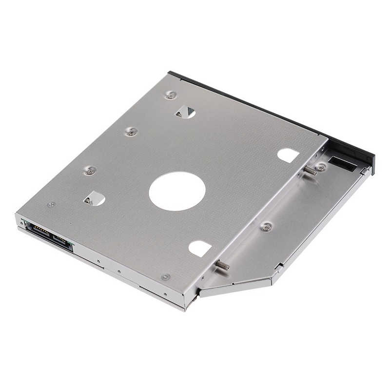 9.5 millimetri SATA 2nd HDD SSD Caddy per Hp Probook 640 645 650 655 G0 G1 G2 240 G2 242 g2 Hard Disk Drive Caddy