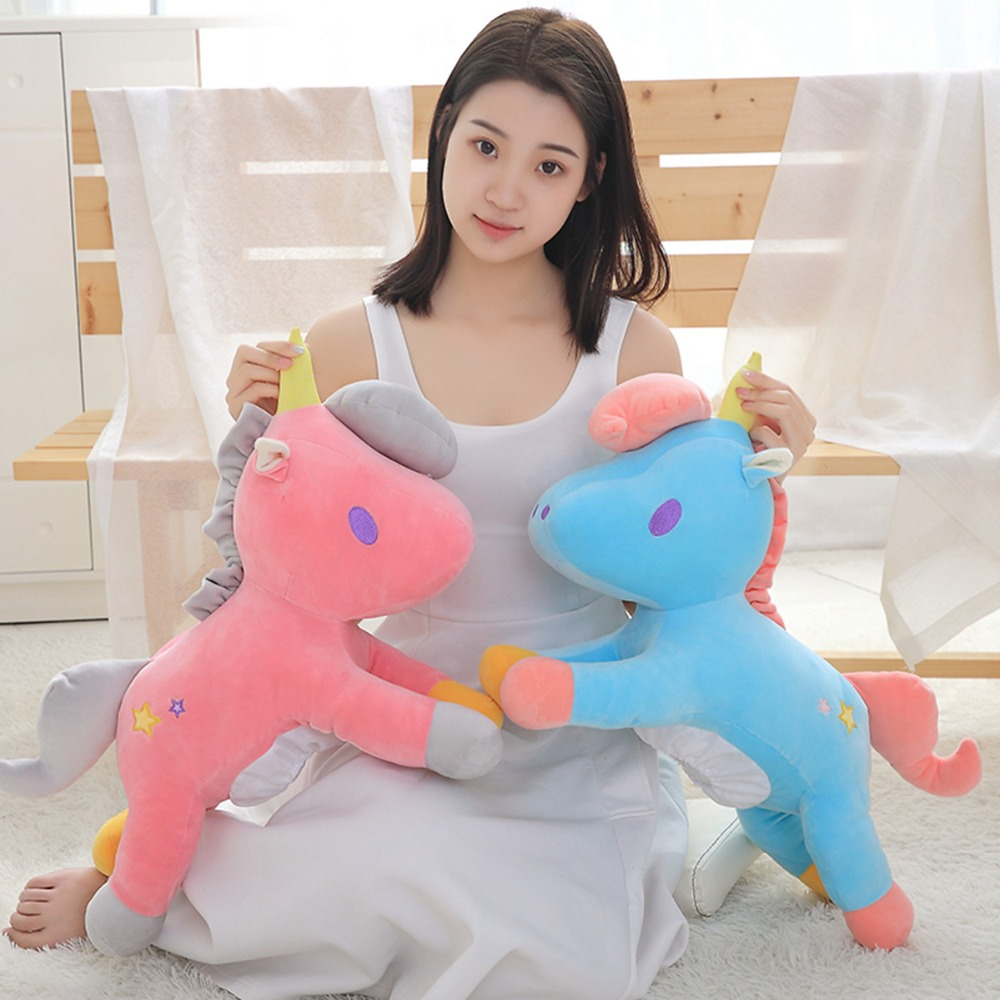 Dolls & Stuffed Toys 58 Cm Plush Unicorn Toy & Tissue Box Stuffed Animal Pony Toy For Children Wholesale Drop Shipping Available Available In Various Designs And Specifications For Your Selection Stuffed & Plush Animals