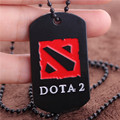 Hot Games Dota 2 Logo Stainless Steel Necklace DOTA2 Neckless Man Colar Masculino Vintage Neclace For Best Friends