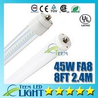 X10 CE UL 8ft 2 4m FA8 T8 45W Led Tube Light 4800lm 85 265V Led