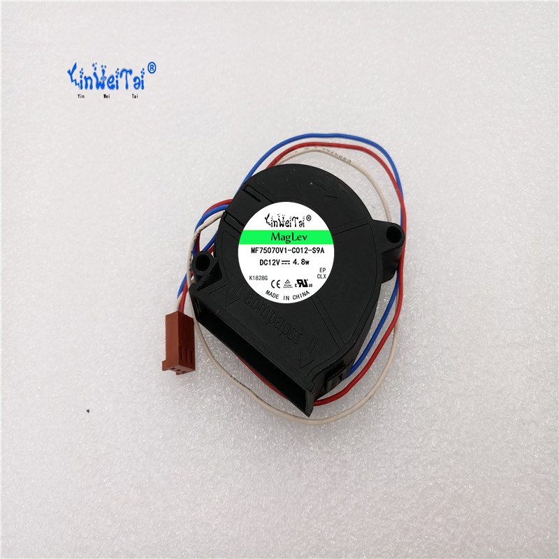 90%NEW LAPTOP COOLING FAN For ebmpapst RLF35-8/12N/2 12v 235mA 2.8W RLF35-8/12N/2 12V 300mA 3.6W 7656066 B2 CPU Cooling Fan 3Pin new for ebmpapst a2s130 aa03 01ac220v thermostability cooling fan