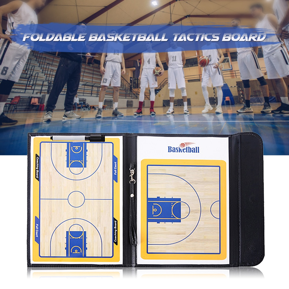 NEW Foldable Basketball Magnetic Tactic Instructor Tactic Board With Marker Pen Portable Coaching Strategy Board Instructor Tool