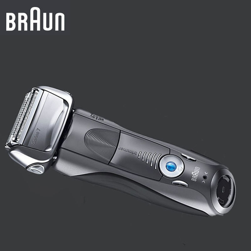 Braun Electric Shaver 7855S For Men Rechargeable Series 7 Triple Blades Wholebady Washing Reciprocating Shaving Machine