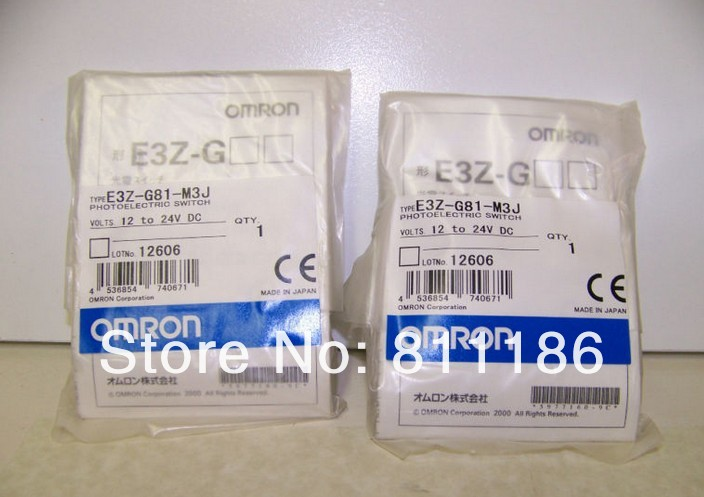 1pcs/lot E3Z-G82-M3J Photoelectric switch is new in stock.