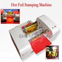 Oferta TJ-256 Digital automático máquina de estampación en caliente 220V de grabación en relieve de cuero dorado impresora de cama plana máquina de prensa para logo de cuero