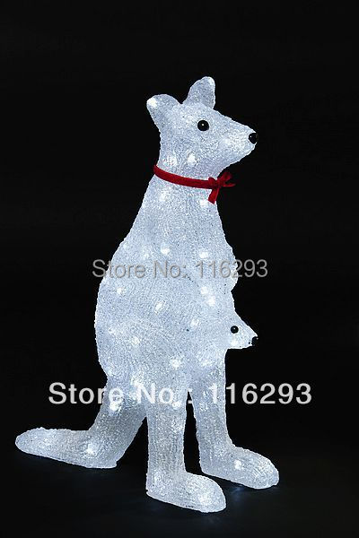 Christmas Kangaroo Lights.2015 Hot Sale Limited Plastic Ce Navidad Led Christmas