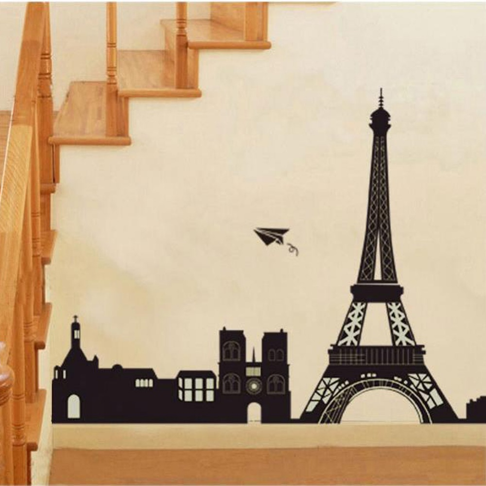 Eiffel Tower Wall Decor aliexpress : buy i love paris eiffel tower wall decor