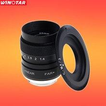 Fujian 25mm F1.4 CCTV TV lente C Montaje para Micro 4/3 m4/3 Olympus EPL5 EPM3 EPL7 EP6 EPL7 EPL6 EPL3 EP1 EP2 EP3 E-M5 OM-D E-M10