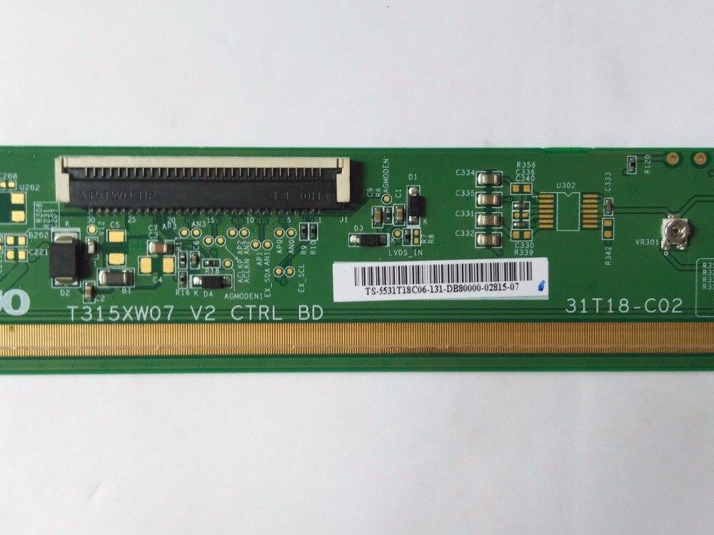 T315XW07 V2 CTRL BD 31T18-C02 LCD PCB Parts voennoplennye v shaxterske 31 07 2014