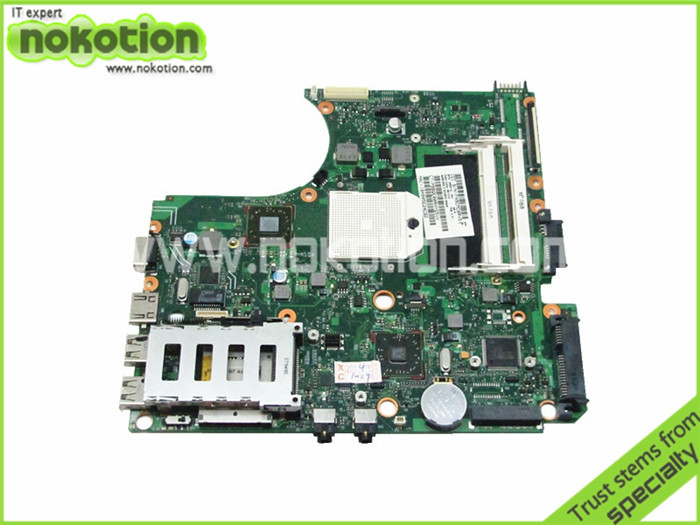 NOKOTION 585219-001 laptop motherboard for hp 4515s 216-0752001 DDR2 High Quality nokotion sps v000198120 for toshiba satellite a500 a505 motherboard intel gm45 ddr2 6050a2323101 mb a01