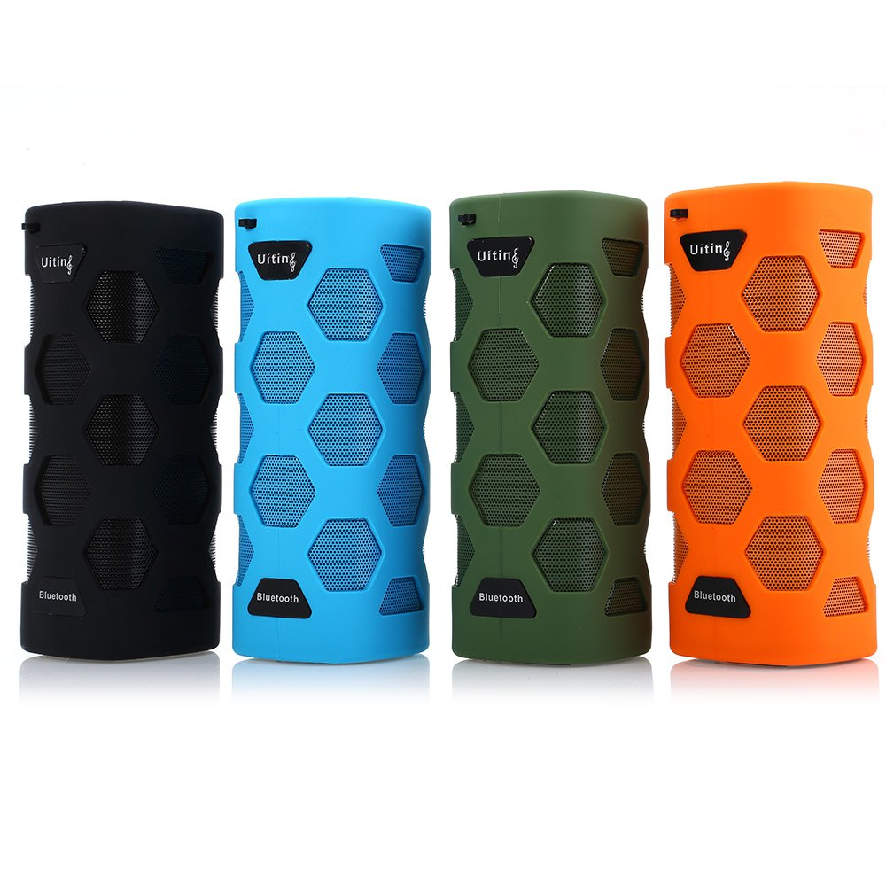 N919 Portable IPX6 Waterproof Mini Speaker Wireless Bluetooth Stereo Sport Bluethooth Speaker Handsfree AUX Input NFC For Phone