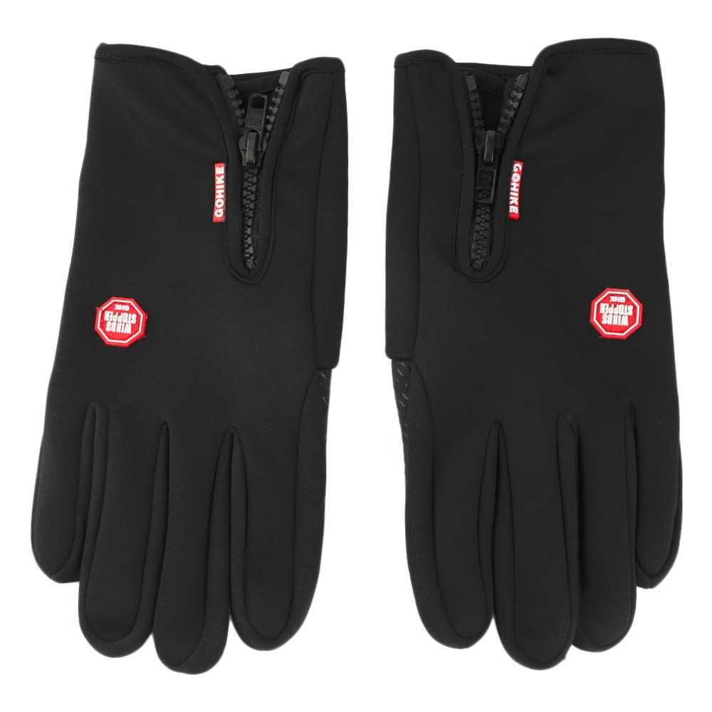 Men Women Touch Screen Winter Warm Breathable Outdoor Camping Hiking Full Finger Winter Windproof Sport Gloves