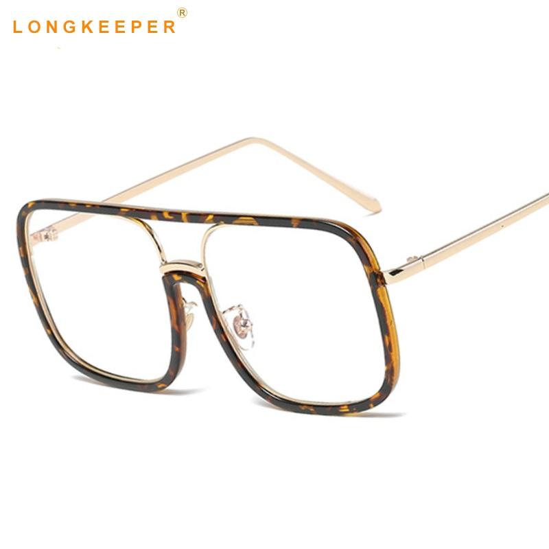 Long Keeper Spectacle Frame Eyeglasses Women Men Computer Optical ...